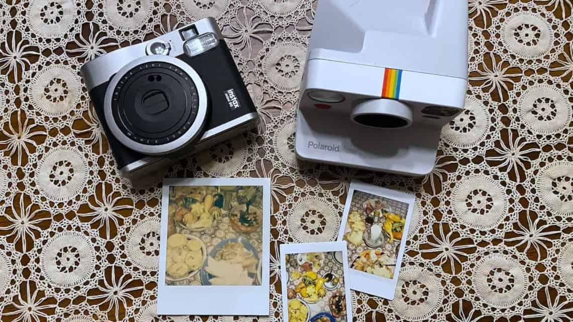 Fujifilm vs Polaroid Hero