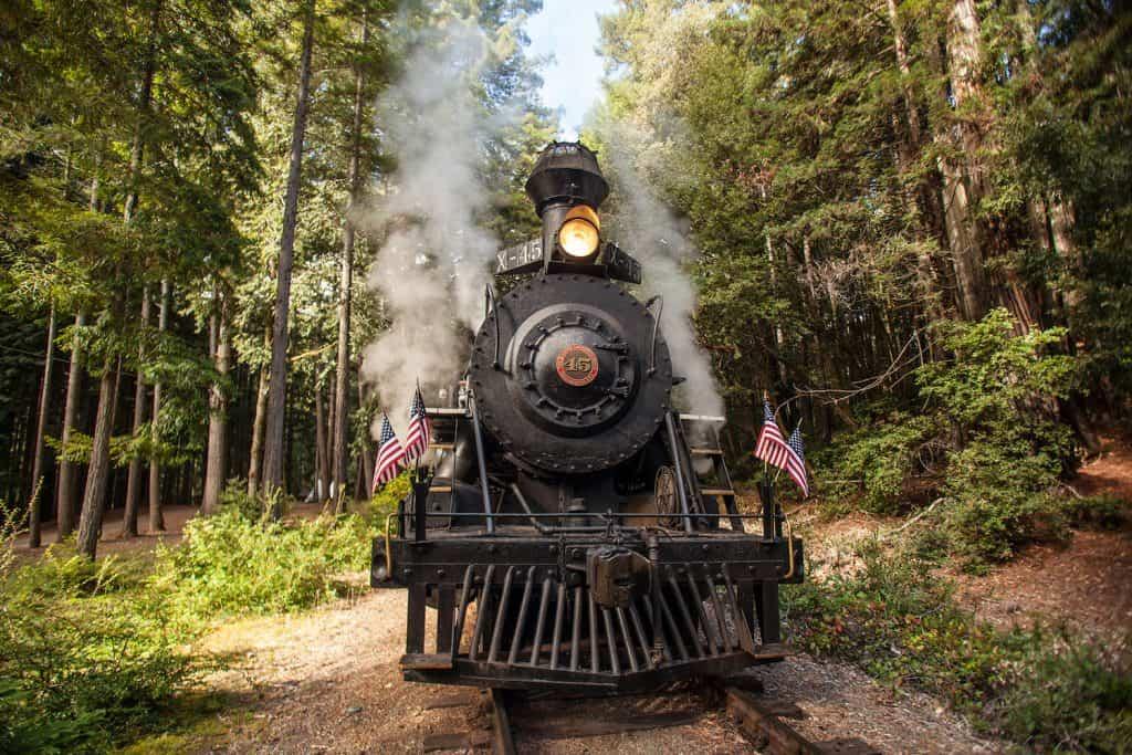 Things to Do in Fort Bragg - Skunk Train - Robert Jason Pinoli