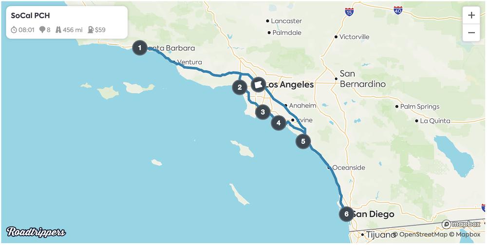 LA Road Trips - PCH