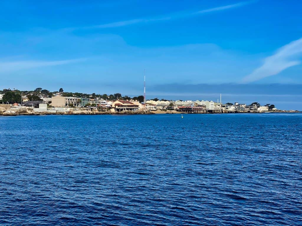 View of the Monterey Waterfront