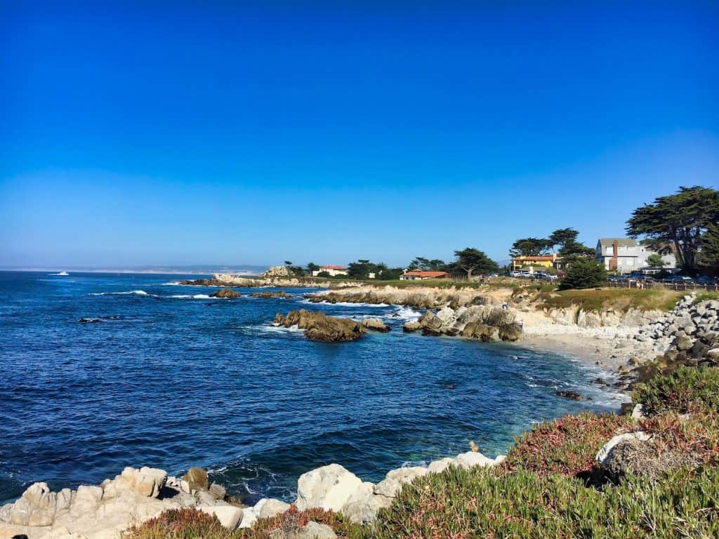 View of the Shoreline of Monterey