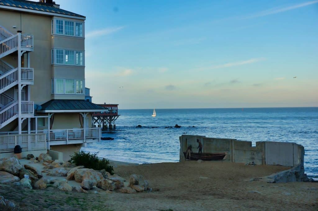 Strolling along Monterey's Cannery Row