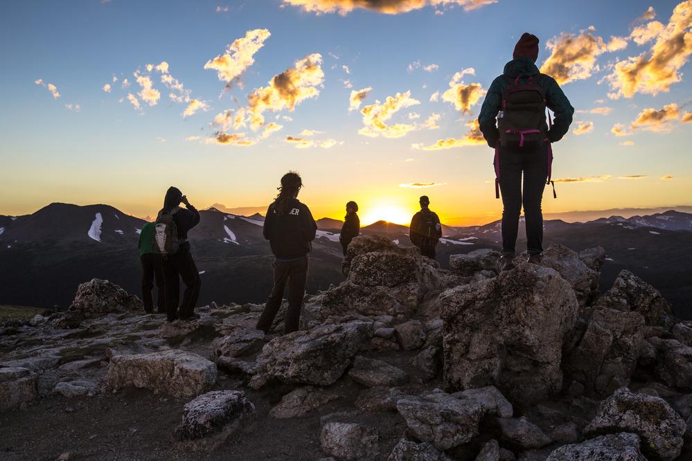 Rocky Mountain National Park - Sunset