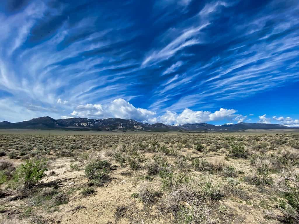 Clouds over Great Basin National Park