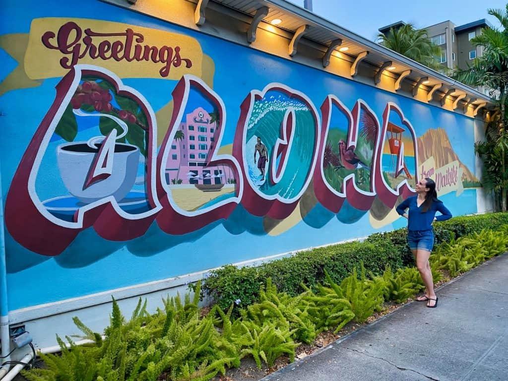 3 days on Oahu, Hawaii - Aloha Street Art