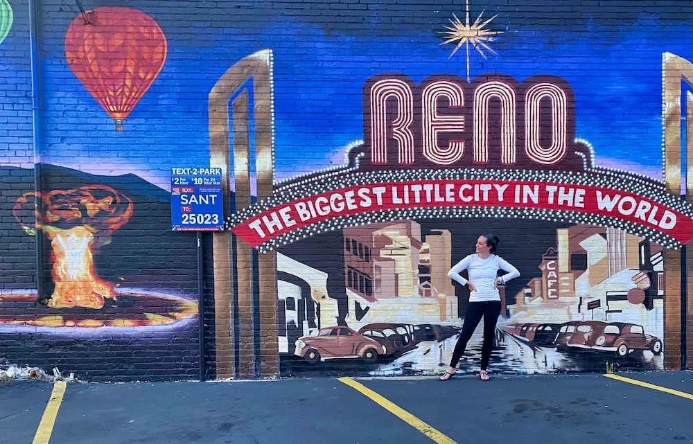 3 Days in Reno - Valerie Street Art