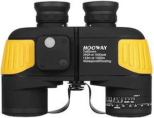 Hooway 7x50 Military Marine Binoculars for Alaska Cruise