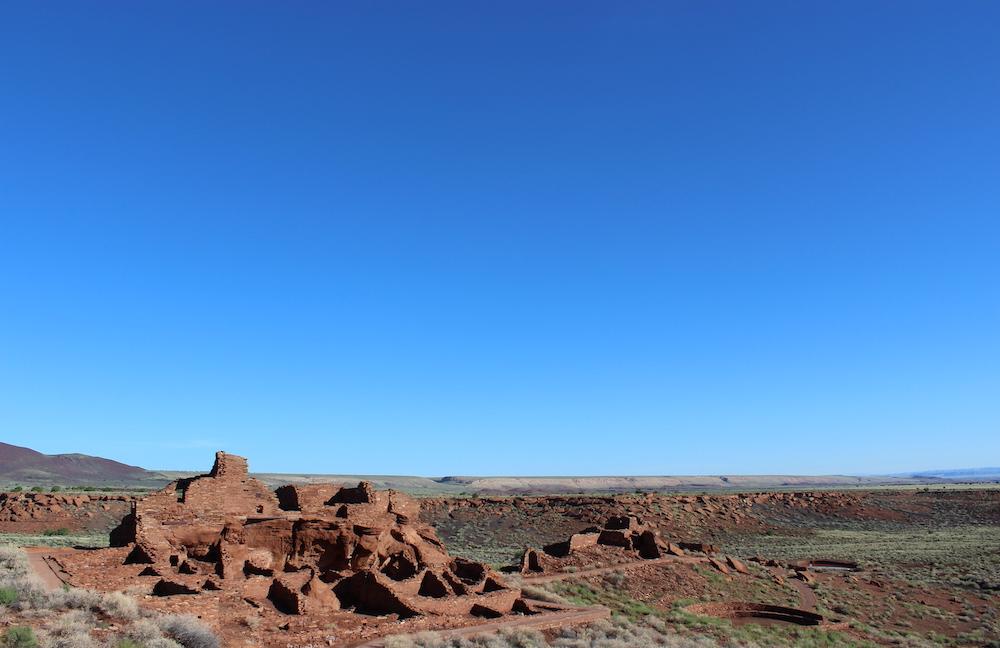 Wupatki Canyon National Monument in Arizona