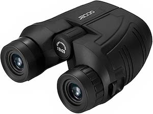 occer 12×25 Compact Binoculars for Alaska Cruise