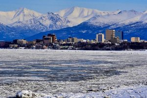 Anchorage in the Winter Hero