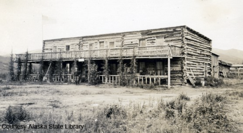 Mount McKinley Park Hotel - P44-05-001, Alaska State Library, Skinner Foundation Photograph Collection