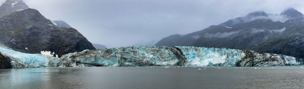 One Day in Glacier Bay - Panorama