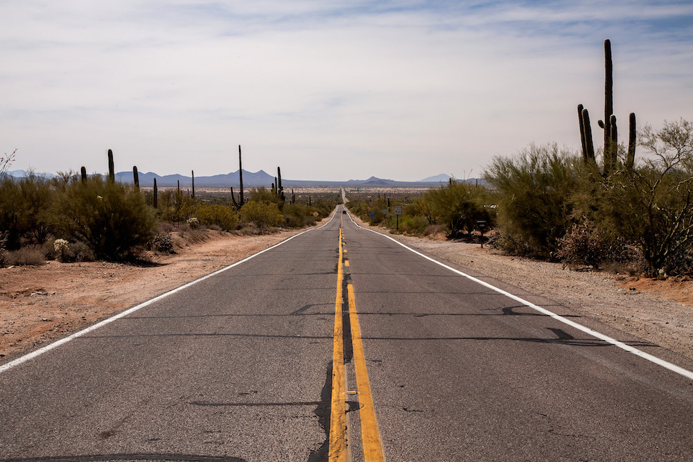 Saguaro National Park Itinerary - Road to the Park